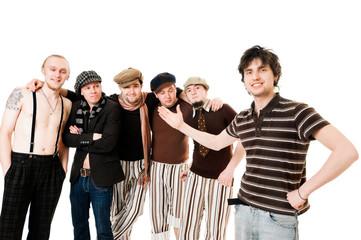 Stylish musical band