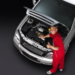Werkstatt Auto Mechaniker 002