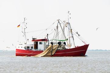 Moderner Krabbenkutter