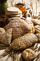 Compositions bread