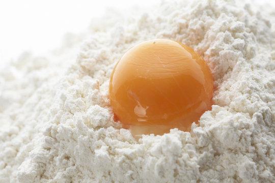 小麦粉と玉子