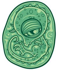 Baby Dinosaur Embryo