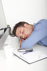Pause machen im Büro, Burnout