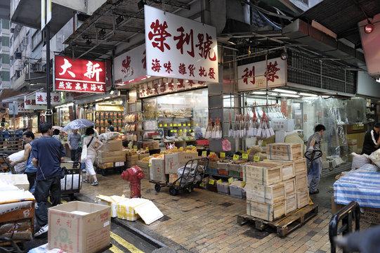 Hong Kongs Märkte