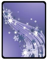 ilustracion floral en vector