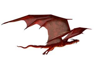 Red Dragon Gliding