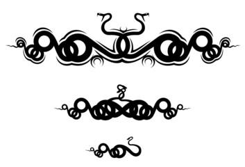 Snakes frame
