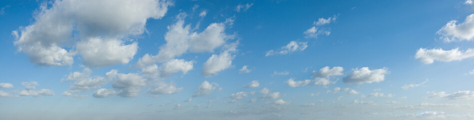 ciel nuageux panoramique