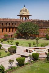Foto auf Leinwand Befestigung jaipur, rund um das amber fort