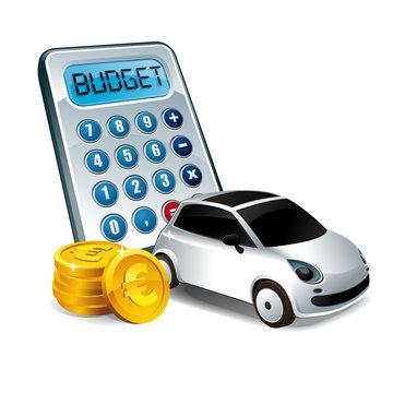 Budget voiture