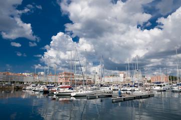 Puerto de la Coruña (Galicia)
