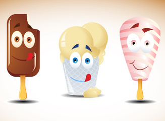 Happy ice creams