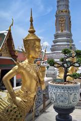 Inside Wat Phra Kaeo Temple