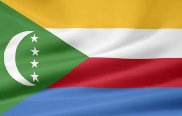 Flagge der Komoren