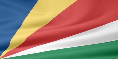 Flagge der Seychellen