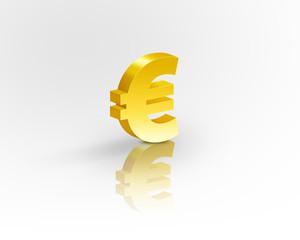euro gold symbol