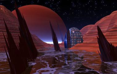 Night on Europa