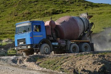Ballast truck