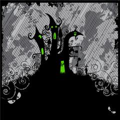 Scary Halloween Castle