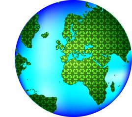 planète recyclage