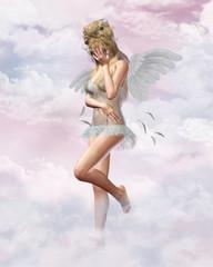 trauriger engel