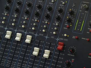 Audio Mix Console