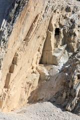 carrara marble pit mine (Tuscany, Italy)
