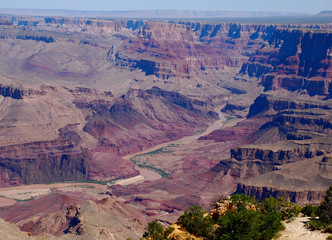 Alla fine del grand canyon