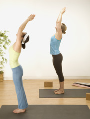 Bending over backward for Yoga