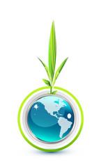 Environmental globe design