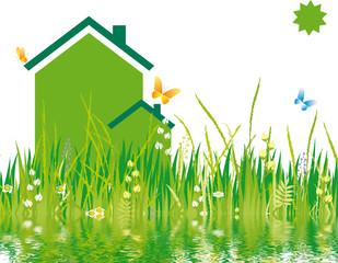 environnement - maison écologique