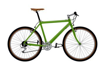 Detailed vector bike
