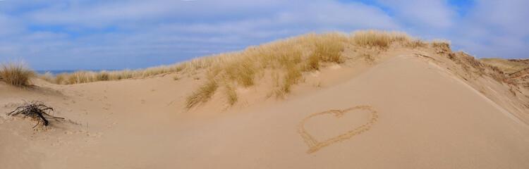 GroBartig Sylt Düne Herz Urlaub Verliebt