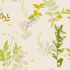 seamless nature pattern