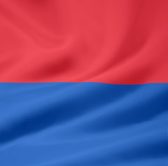 Flagge des Kantons Tessin - Schweiz