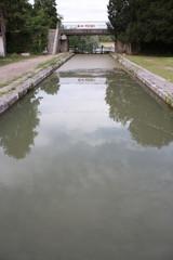 Ecluse sur le canal de Briare