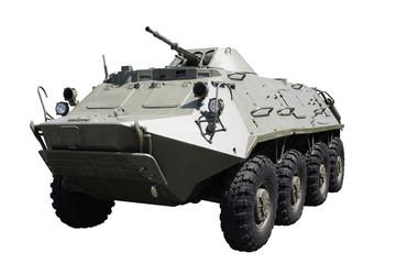 Armoured troop-carrier