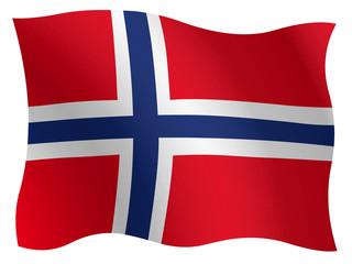 Bannière norvégienne