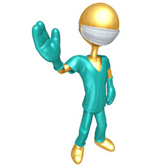 Gold Guy Doctor