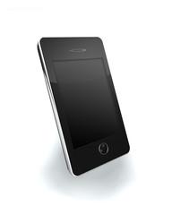 Portable noir 3D vierge