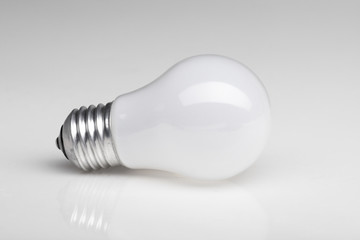 Background with  lightbulb