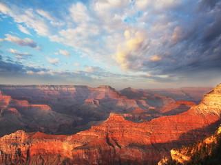 Fond de hotte en verre imprimé Rouge Grand Canyon