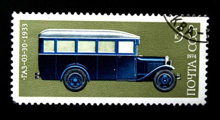 vintage soviet avtomobile GAZ-03-30
