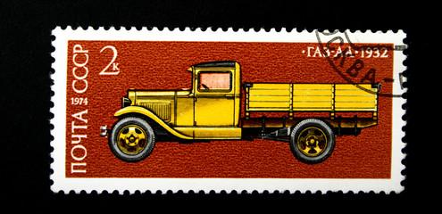 vintage soviet avtomobile GAZ-AA