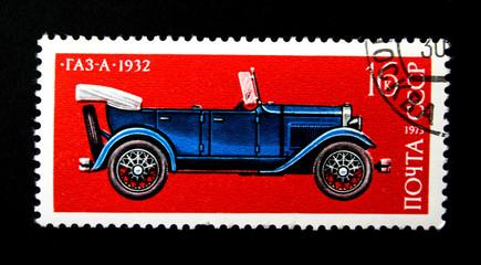 vintage soviet avtomobile GAZ-A