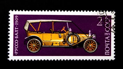 vintage soviet avtomobile NAMI-1