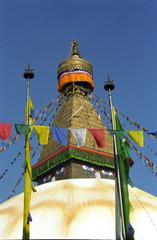 Stupa, Bodnath, Nepal