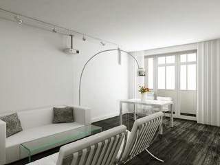 Interioir of modern living-room