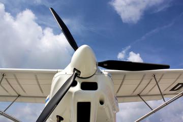 Propeller eines Ikarus 42