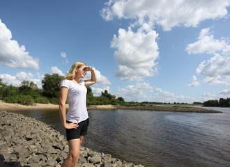 Weitblick auf's Wasser - Farsightedness onto the water